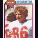 1979 Topps Football #223 Jim Obradovich - Tampa Bay Buccaneers