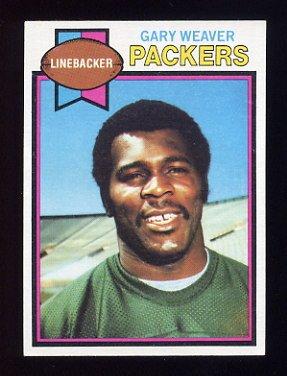 1979 Topps Football #218 Gary Weaver - Green Bay Packers