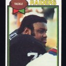 1979 Topps Football #210 Art Shell - Oakland Raiders NM-M