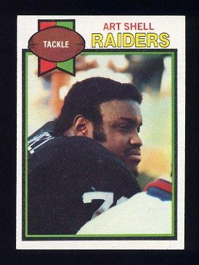 1979 Topps Football #210 Art Shell - Oakland Raiders NM-M