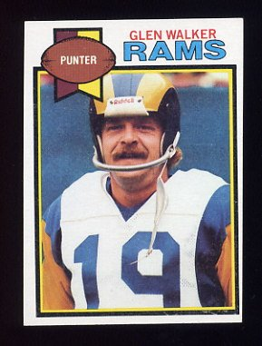 1979 Topps Football #209 Glen Walker - Los Angeles Rams