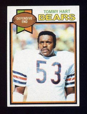 1979 Topps Football #199 Tommy Hart - Chicago Bears
