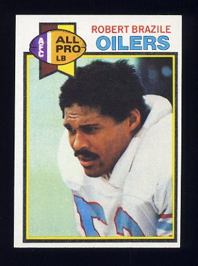 1979 Topps Football #192 Robert Brazile - Houston Oilers