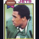 1979 Topps Football #186 Bobby Jackson - New York Jets