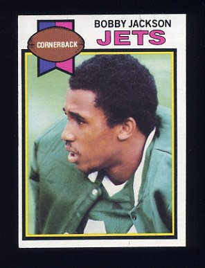 1979 Topps Football #186 Bobby Jackson - New York Jets