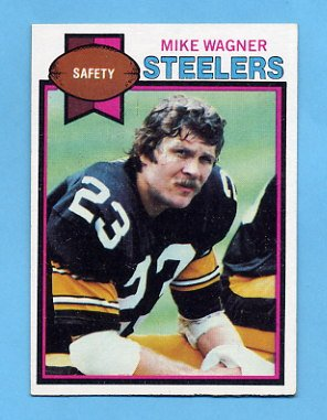1979 Topps Football #165 Mike Wagner - Pittsburgh Steelers