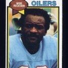 1979 Topps Football #164 Ken Burrough - Houston Oilers