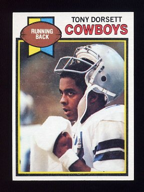 1979 Topps Football #160 Tony Dorsett - Dallas Cowboys