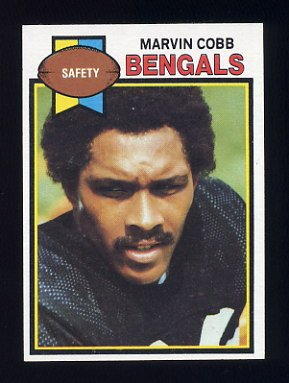 1979 Topps Football #156 Marvin Cobb - Cincinnati Bengals