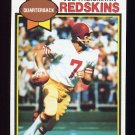 1979 Topps Football #155 Joe Theismann - Washington Redskins NM-M