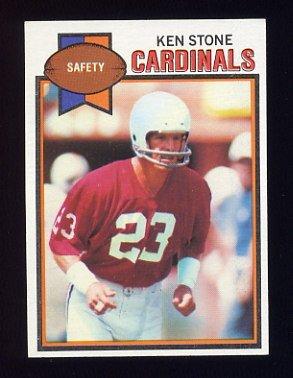1979 Topps Football #139 Ken Stone - St. Louis Cardinals