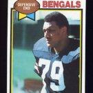 1979 Topps Football #135 Ross Browner RC - Cincinnati Bengals