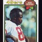1979 Topps Football #131 Freddie Solomon - San Francisco 49ers