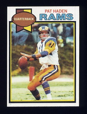 1979 Topps Football #130 Pat Haden - Los Angeles Rams