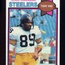 1979 Topps Football #124 Bennie Cunningham - Pittsburgh Steelers