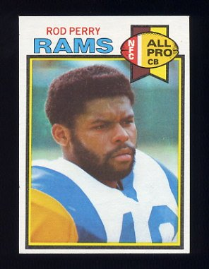 1979 Topps Football #106 Rod Perry - Los Angeles Rams