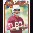 1979 Topps Football #102 Pat Tilley - St. Louis Cardinals