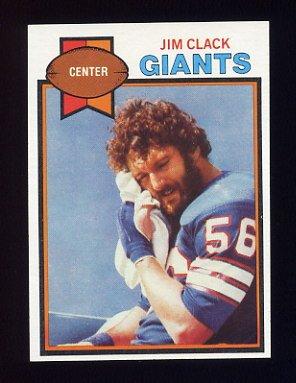 1979 Topps Football #099 Jim Clack - New York Giants