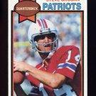 1979 Topps Football #095 Steve Grogan - New England Patriots