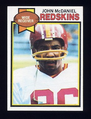 1979 Topps Football #091 John McDaniel - Washington Redskins