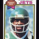 1979 Topps Football #082 Bruce Harper - New York Jets