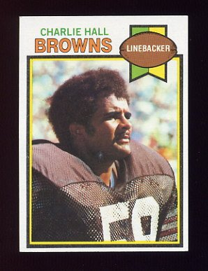 1979 Topps Football #073 Charlie Hall - Cleveland Browns