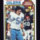 1979 Topps Football #067 Gregg Bingham - Houston Oilers