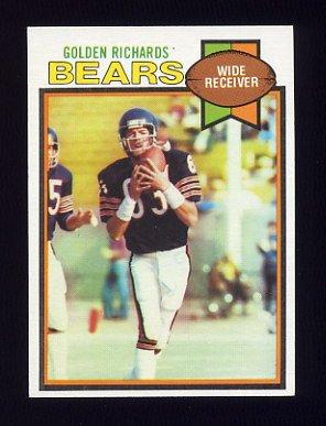 1979 Topps Football #052 Golden Richards - Chicago Bears
