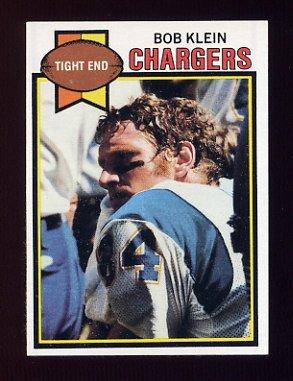 1979 Topps Football #051 Bob Klein - San Diego Chargers