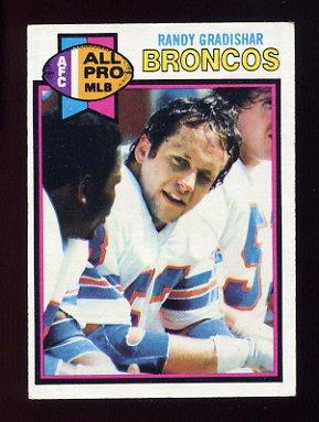 1979 Topps Football #040 Randy Gradishar - Denver Broncos