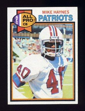 1979 Topps Football #035 Mike Haynes - New England Patriots