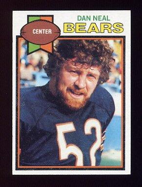 1979 Topps Football #032 Dan Neal - Chicago Bears
