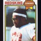 1979 Topps Football #031 Joe Lavender - Washington Redskins