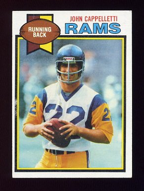 1979 Topps Football #018 John Cappelletti - Los Angeles Rams