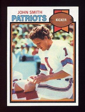 1979 Topps Football #016 John Smith - New England Patriots