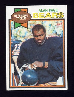 1979 Topps Football #015 Alan Page - Chicago Bears