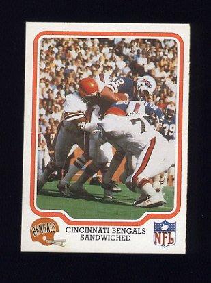1979 Fleer Team Action Football #10 Cincinnati Bengals