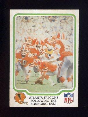 1979 Fleer Team Action Football #02 Atlanta Falcons