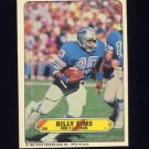 1983 Topps Sticker Inserts Football #26 Billy Sims - Detroit Lions