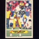 1983 Topps Sticker Inserts Football #19 James Lofton - Green Bay Packers