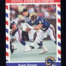 1990 Fleer Stars and Stripes Football #77 Kevin Greene - Los Angeles Rams