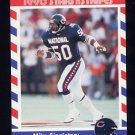1990 Fleer Stars and Stripes Football #56 Mike Singletary - Chicago Bears