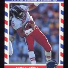 1990 Fleer Stars and Stripes Football #35 Anthony Miller - San Diego Chargers