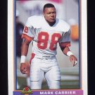 1991 Bowman Football #518 Mark Carrier - Tampa Bay Buccaneers