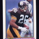 1991 Bowman Football #446 Rod Woodson - Pittsburgh Steelers
