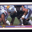 1991 Bowman Football #237 Howie Long - Los Angeles Raiders