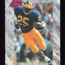 1991 Classic Four Sport Football #221 Jon Vaughn - New England Patriots