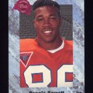 1991 Classic Four Sport Football #148 Reggie Barrett - Detroit Lions