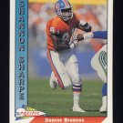 1991 Pacific Football #126 Shannon Sharpe - Denver Broncos