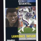1991 Pinnacle Football #273 Lawrence Taylor - New York Giants